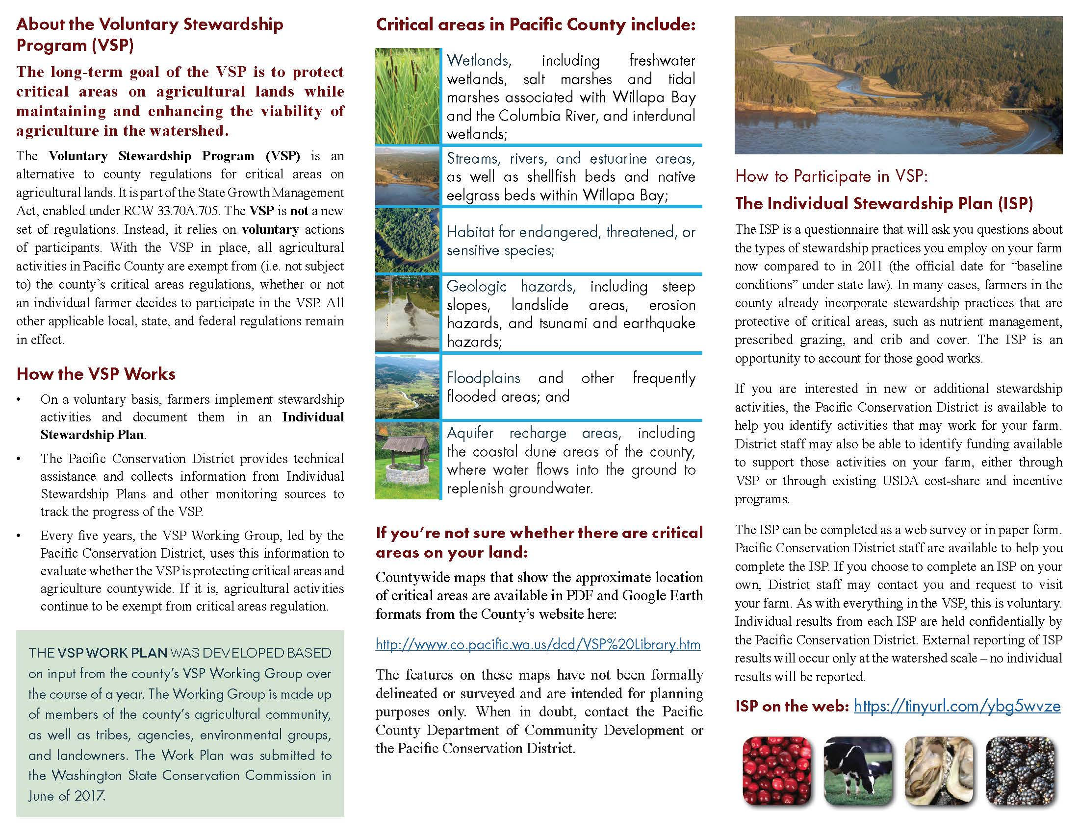 VSP Brochure, Pacific County