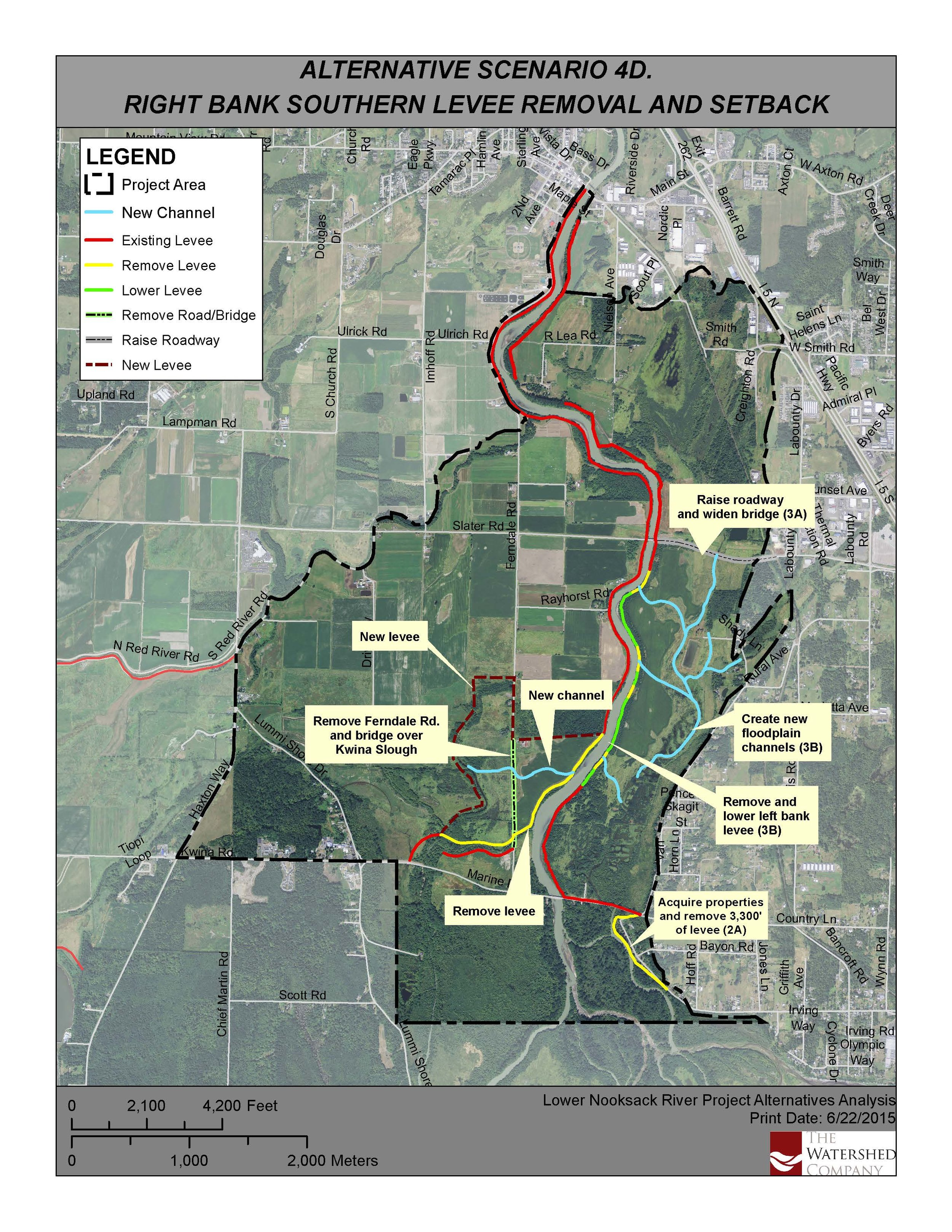 Lower Nooksack River Restoration, Whatcom County