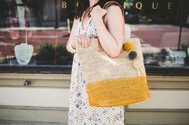 It's the FINAL day of our Mar y Sol Summer FLASH Sale!!! Stop in today to find the perfect summer bag at 30% off. But, hurry, our sale ends at 3pm!