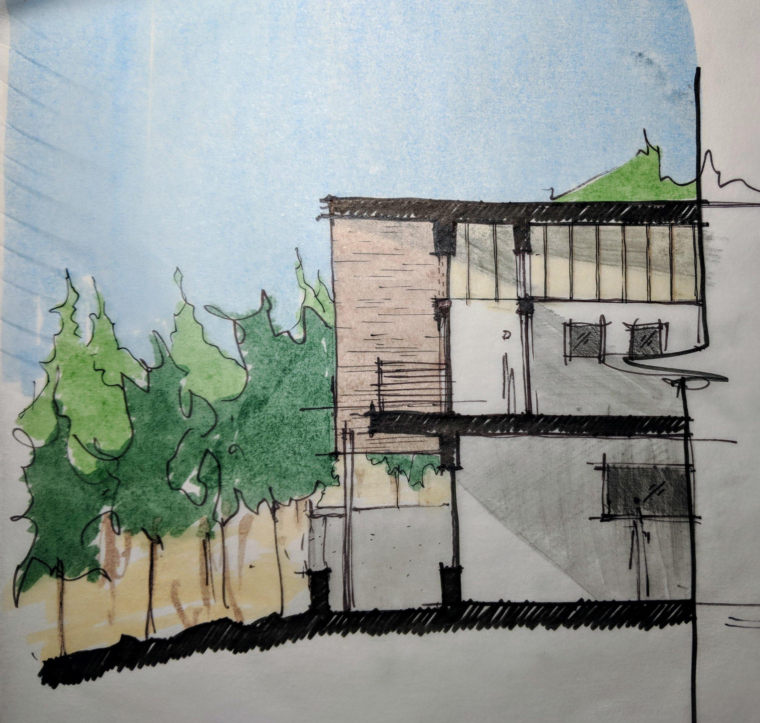 Lyons House Sketch
