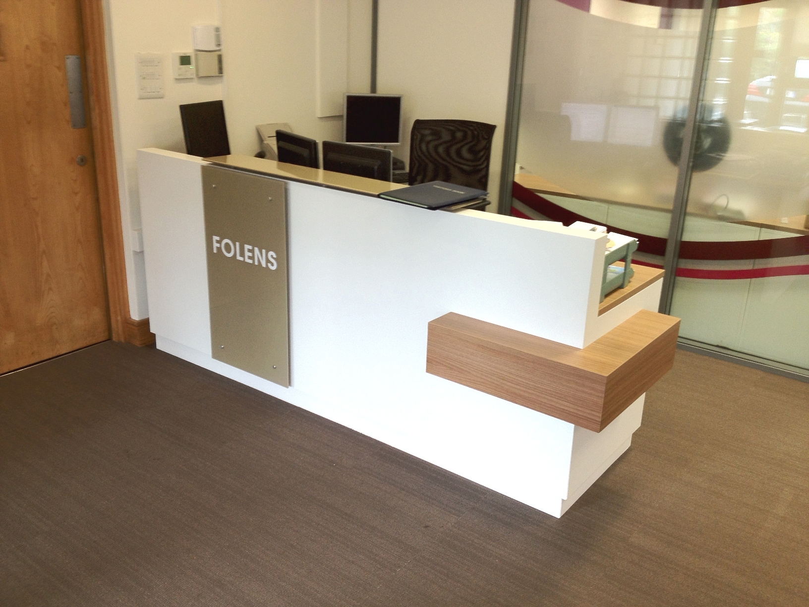 Folens Reception Desk