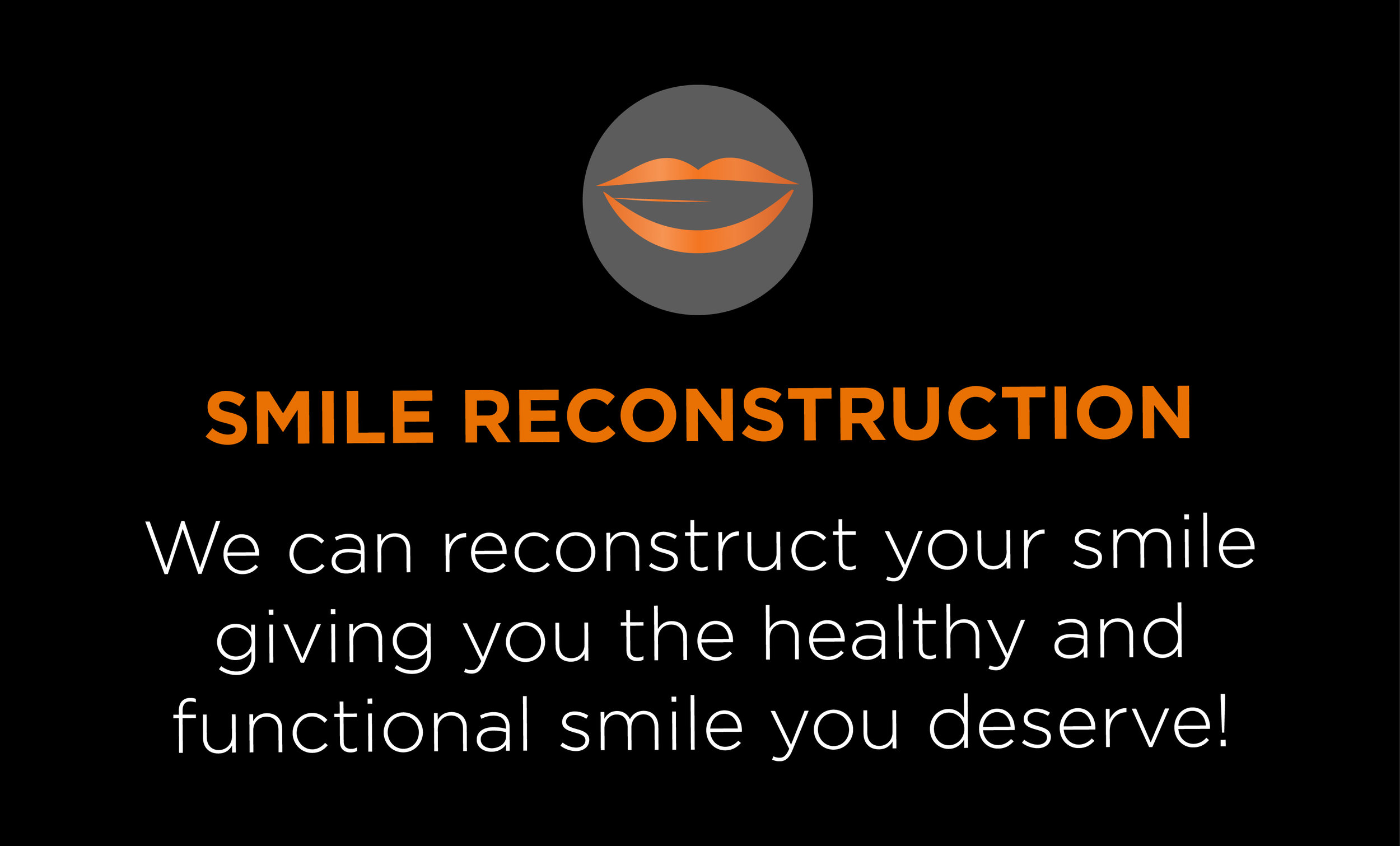 smile reconstruction