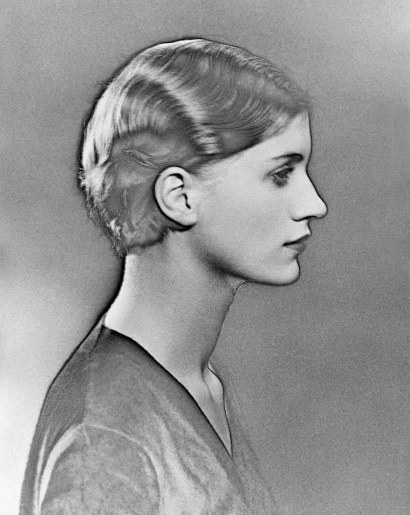 Solarized Portrait of Lee Miller , Paris, France, 1930 by Man Ray