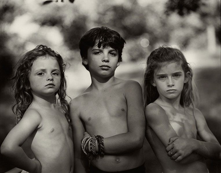 Emmett, Jessie, and Virginia ,  Immediate Family , 1989