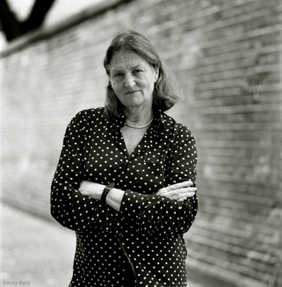 Portrait of Susan Meiselas  by Harvey Wang.