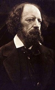 Alfred Lord Tennyson.   Carbon Print.