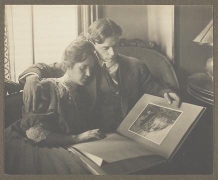 Tom and Helen Stevens , c. 1910; Art Institute of Chicago