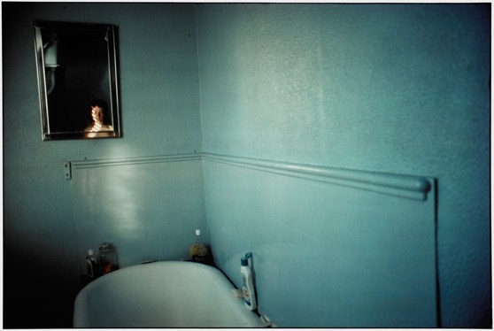 Self-Portrait In Blue Bathroom, London 1980