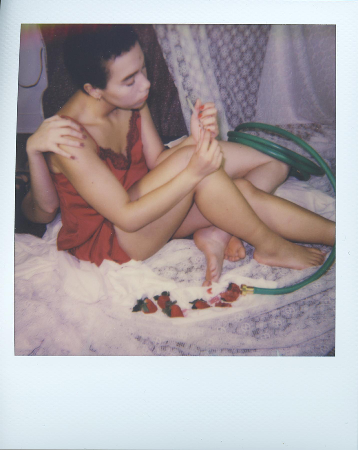 The Garden (Test Polaroid)
