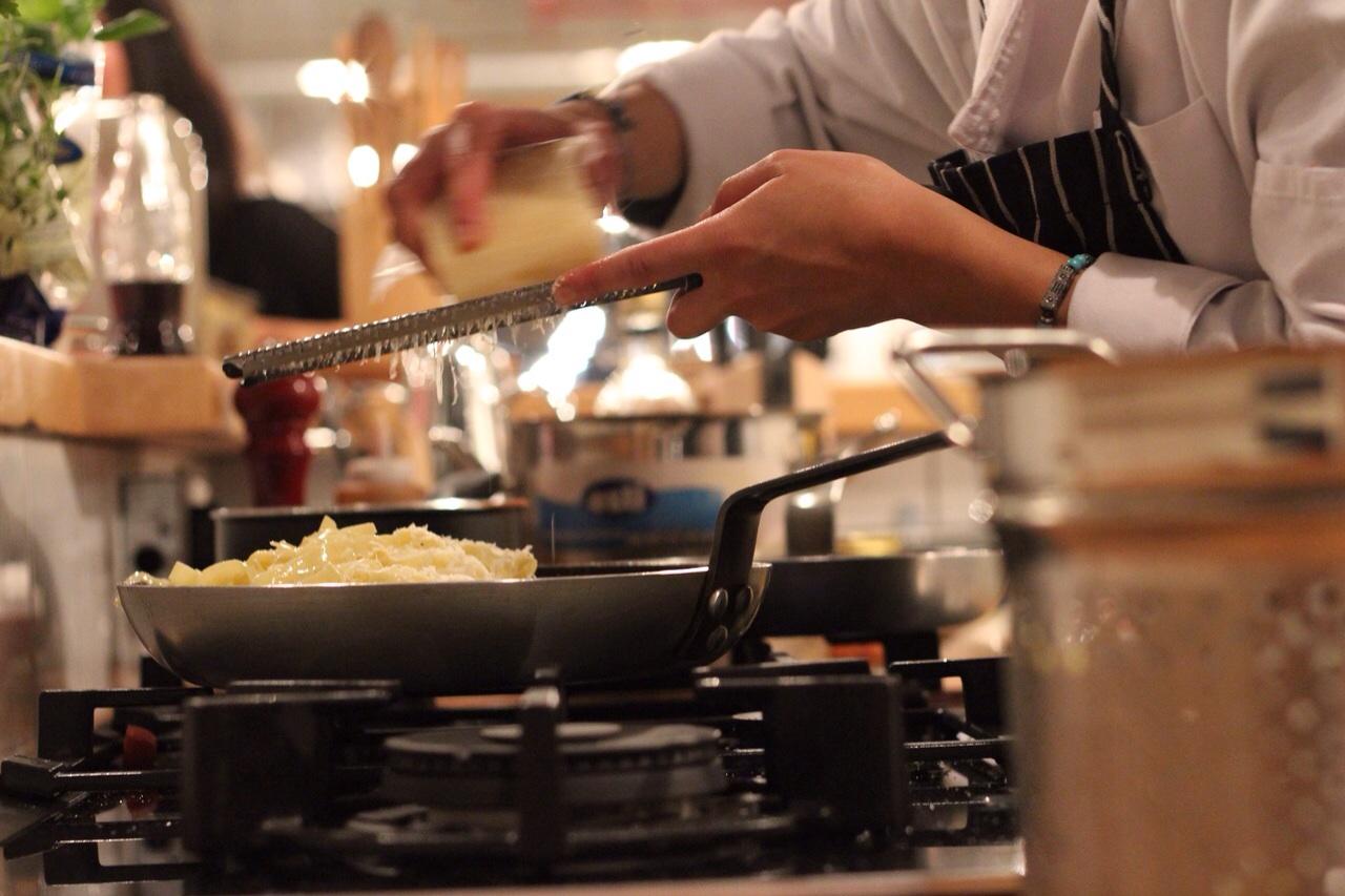 PASTA WORKSHOP - Fresh pasta making hosted by chef Maryam Al Jasser.