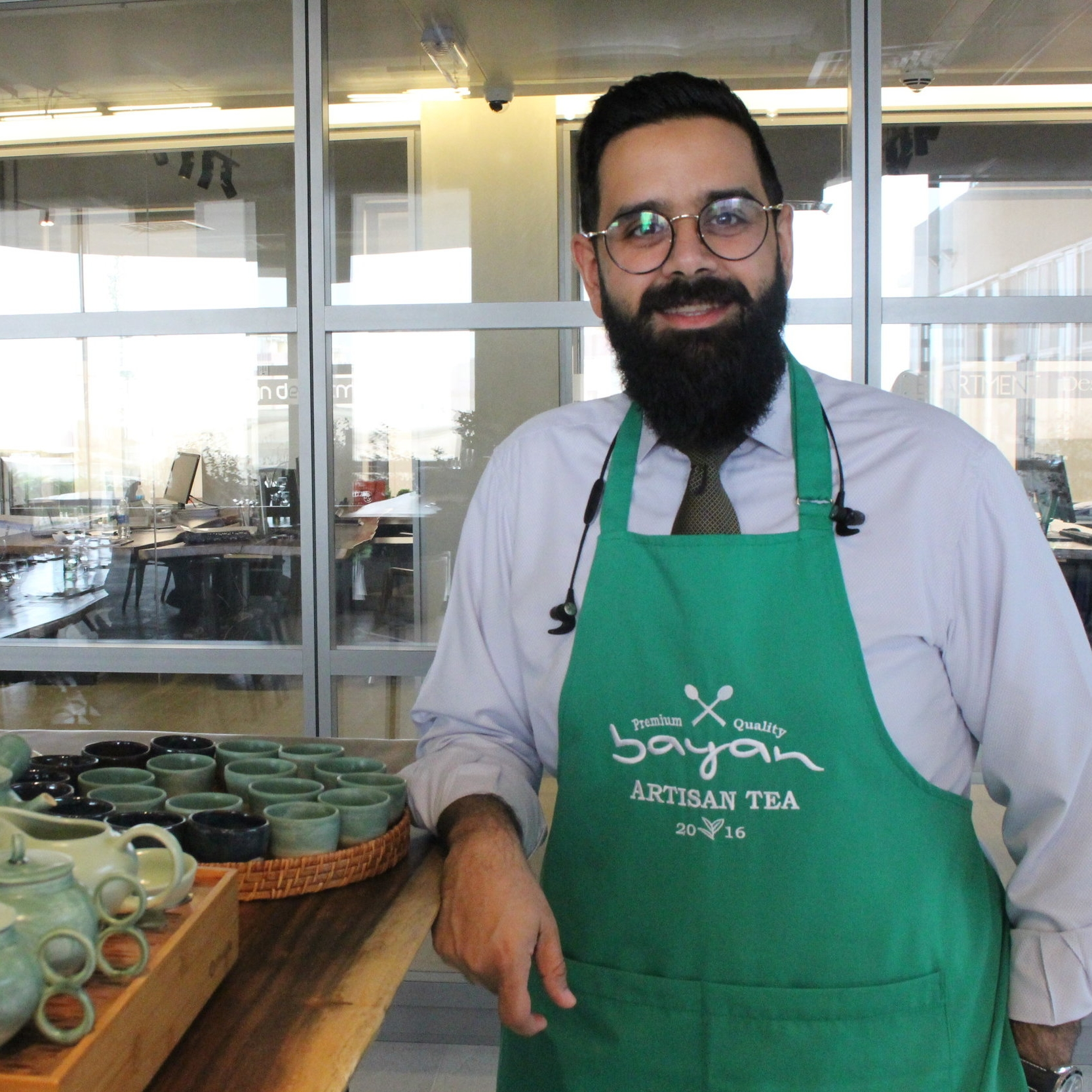 Ahmed Al Eidan  Tea Expert
