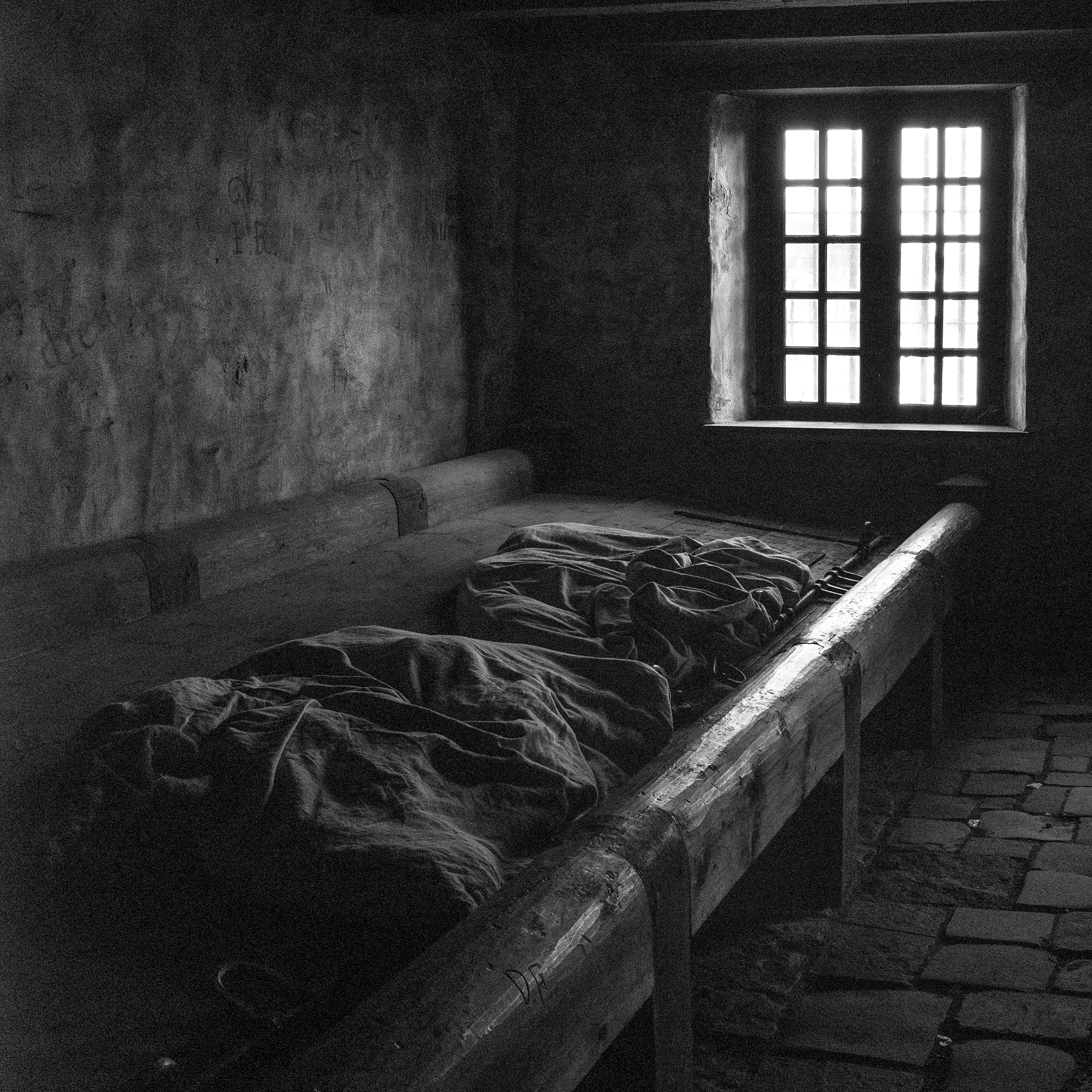 jail bunks, fortress of louisbourg