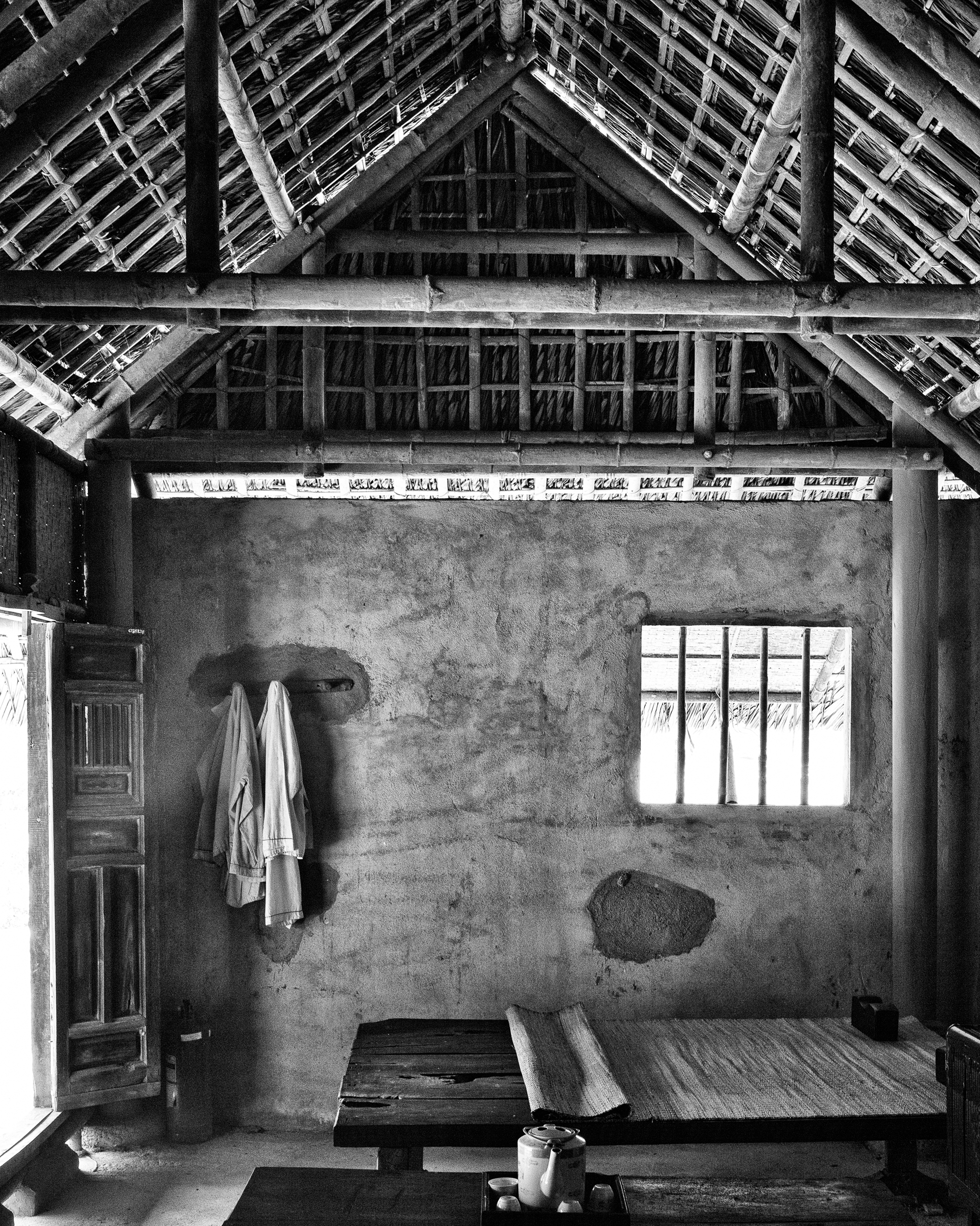 reconstructed cottage, my lai