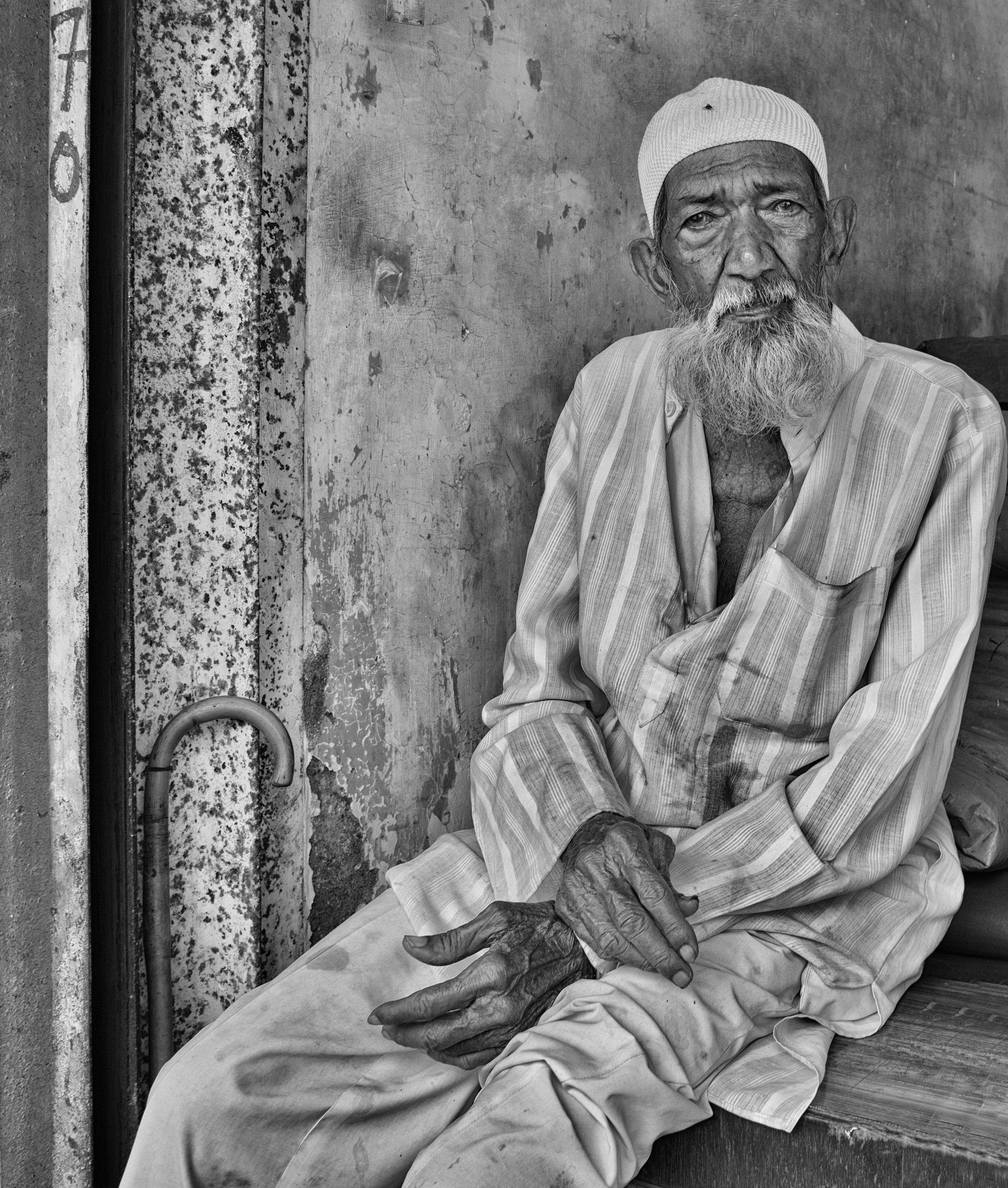 Gentleman with Cane, Mumbai
