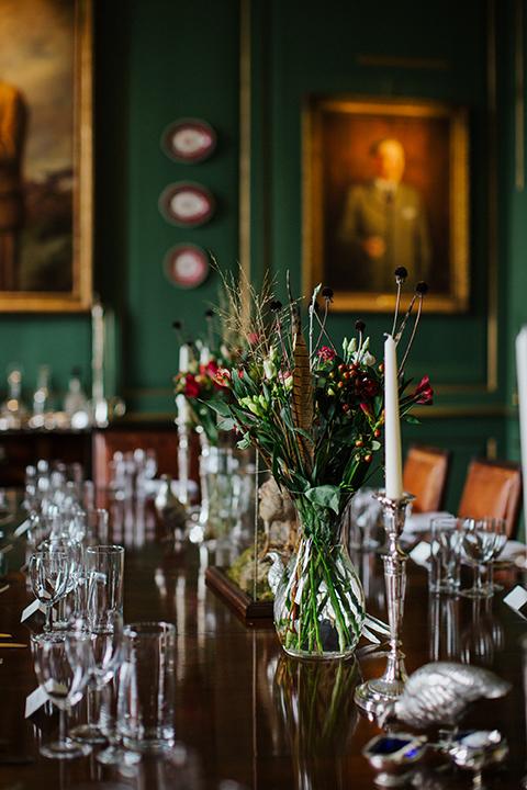 dining room at Glemham Hall