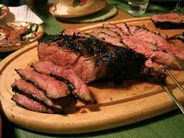 Tasty Grilled English Broil