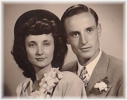 Mom and Dad were married on August 27, 1948.