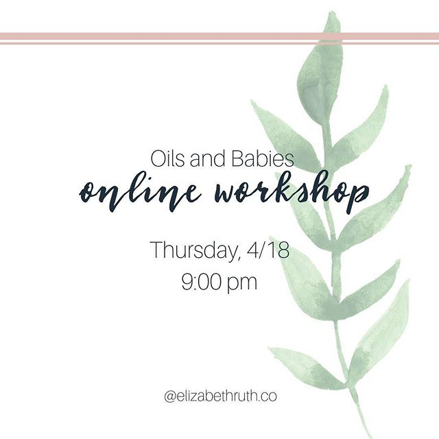 Going live tomorrow at 9 pm for all things oils and babies!  Online, free, and lots of information on how to use essential oils with your littlest of loves.  Who wants an invite?! #dapwellness