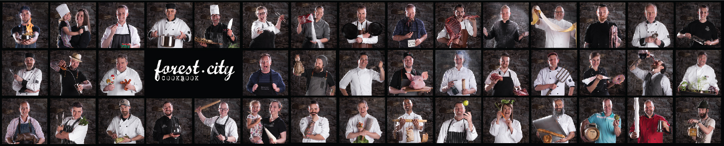 Forest City Cookbook Chefs