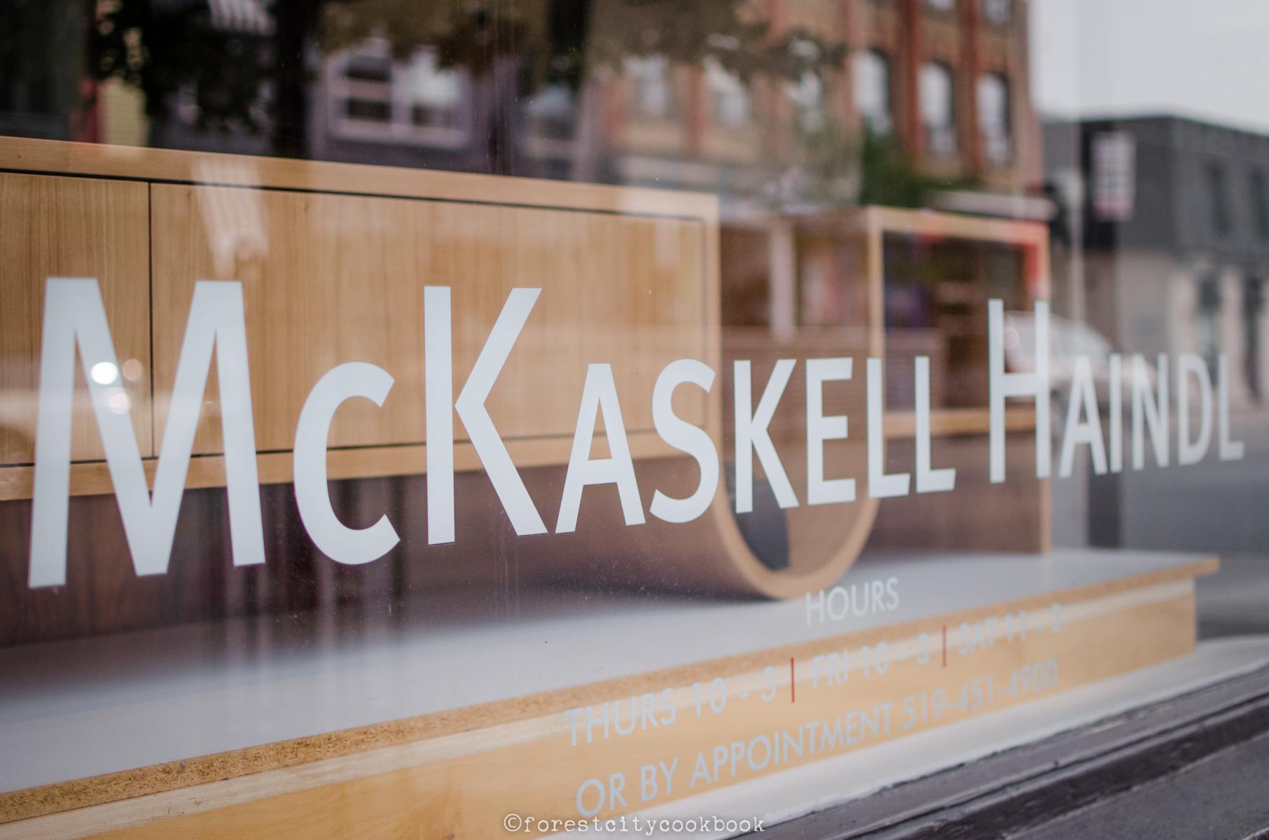 McKaskell Haindl Showroom - Forest City Cookbook