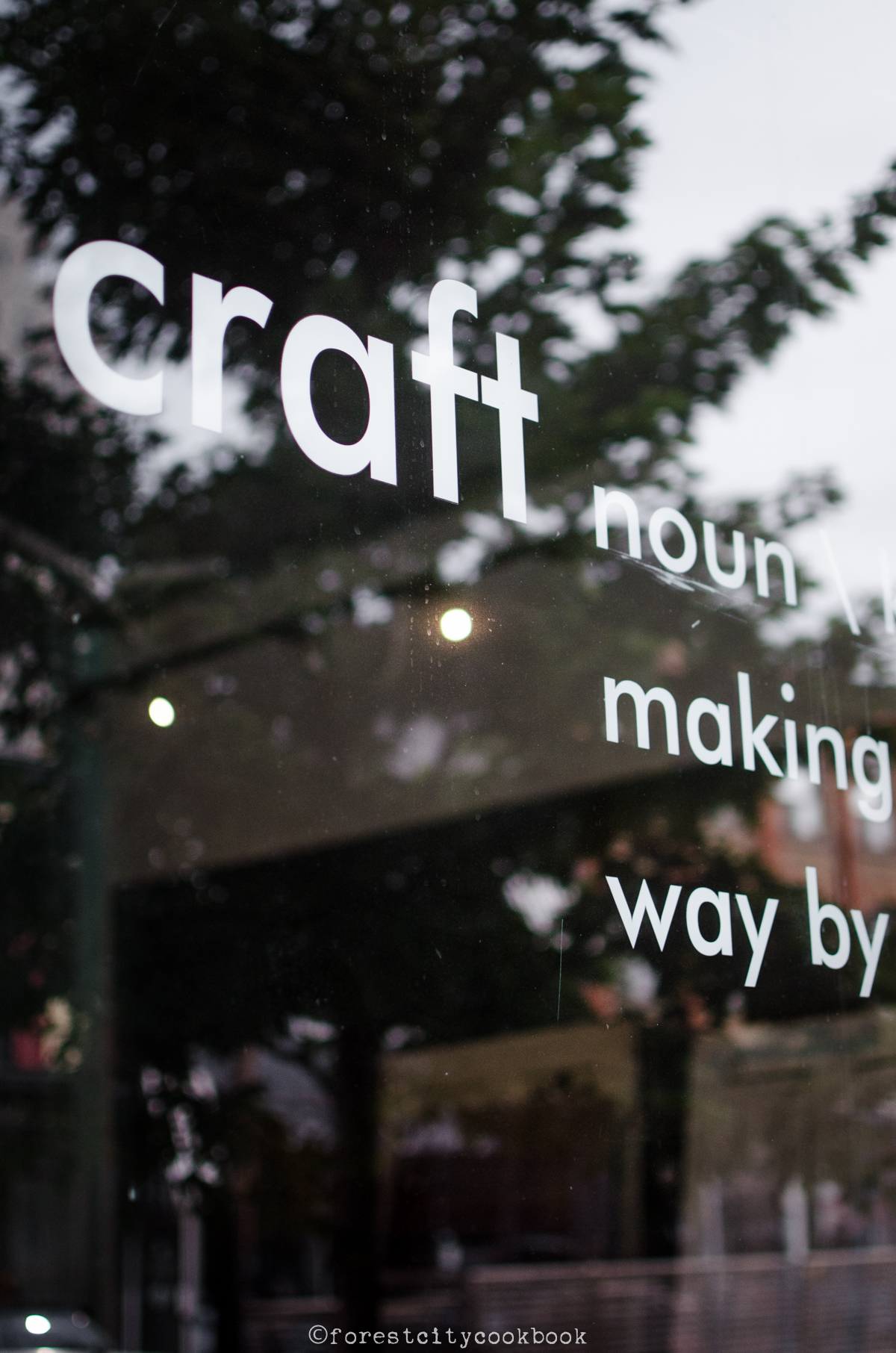 Forest City Cookbook - CMcKaskell Haindl Studio
