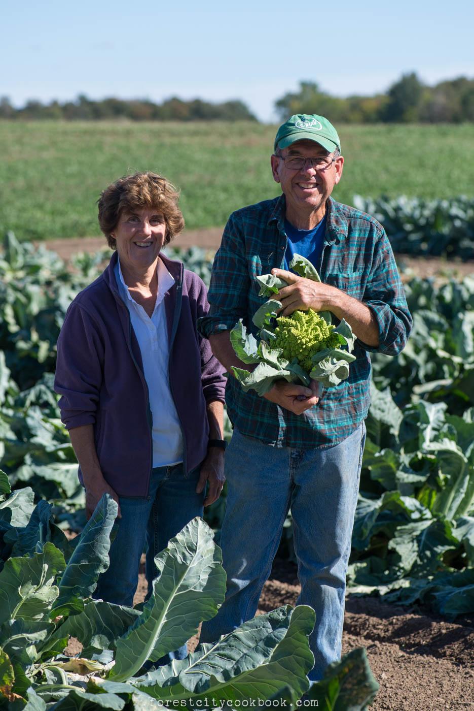 Forest City Cookbook - Applemeadow organic farm