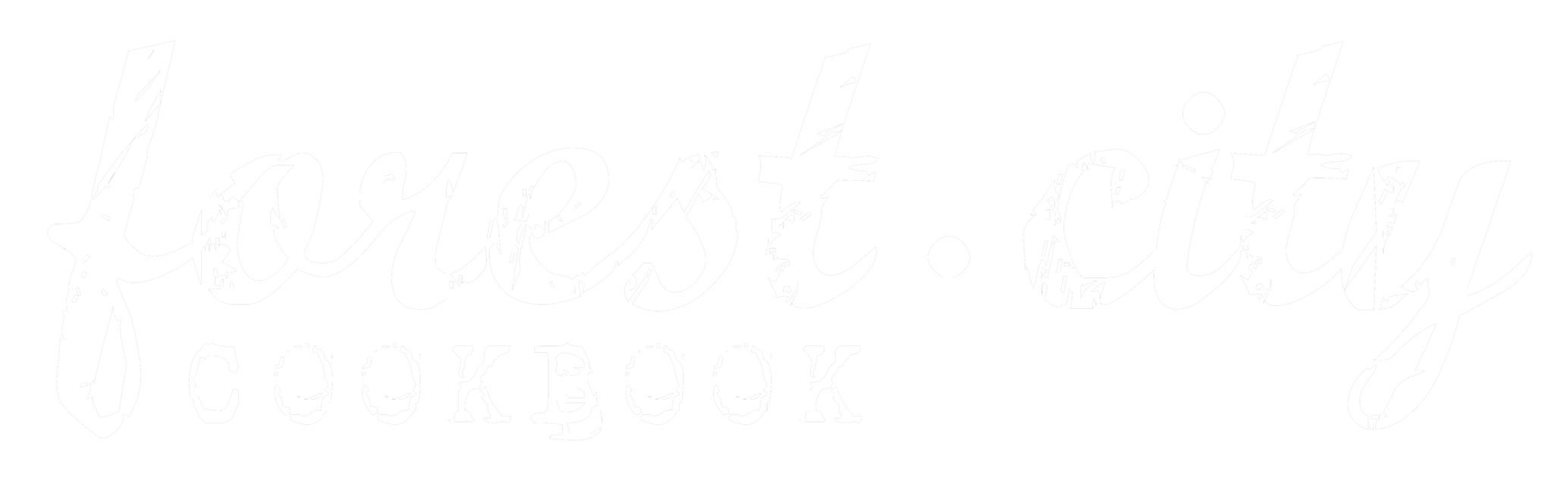 Forest City Cookbook - Logo - London Ontario - White.png