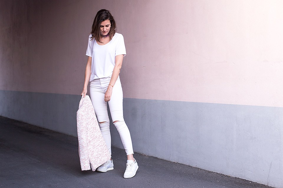 All white & eco-friendly - The Pastel Project by Margot Guilbert