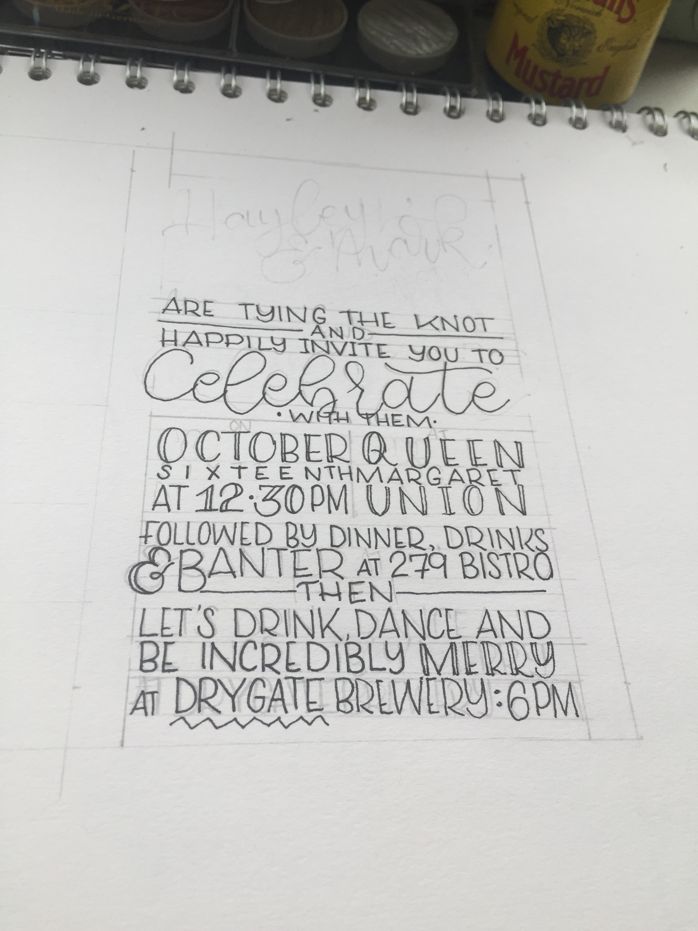 Pen practice
