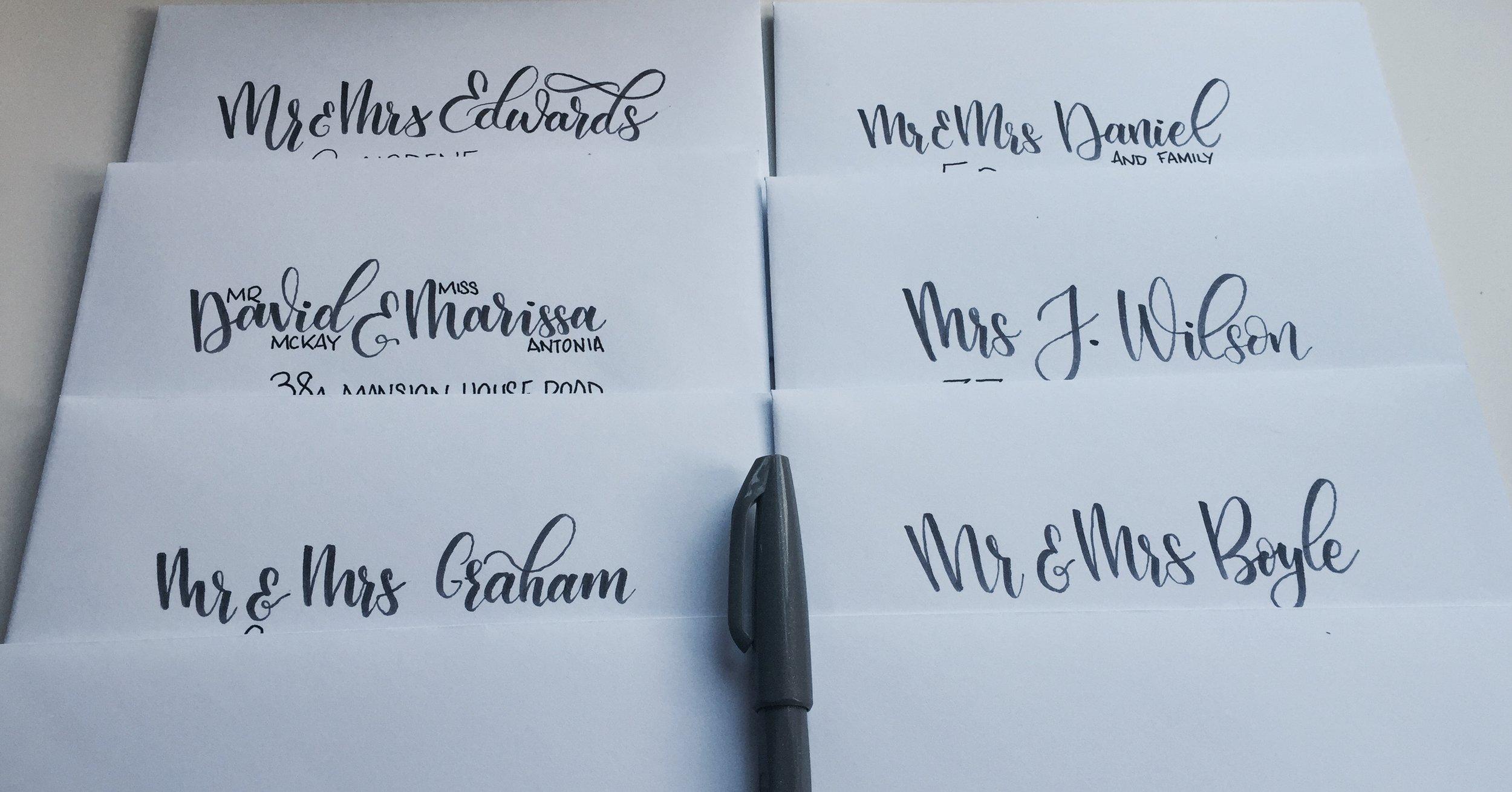 Envelopes too!