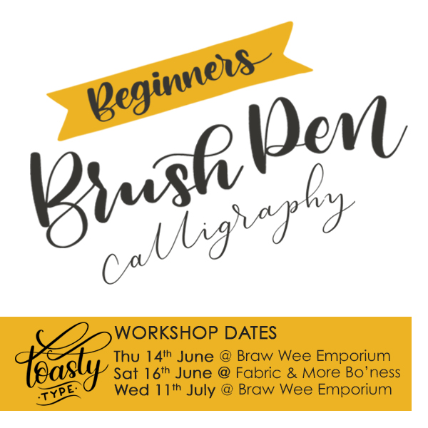 toasty type june and july workshops