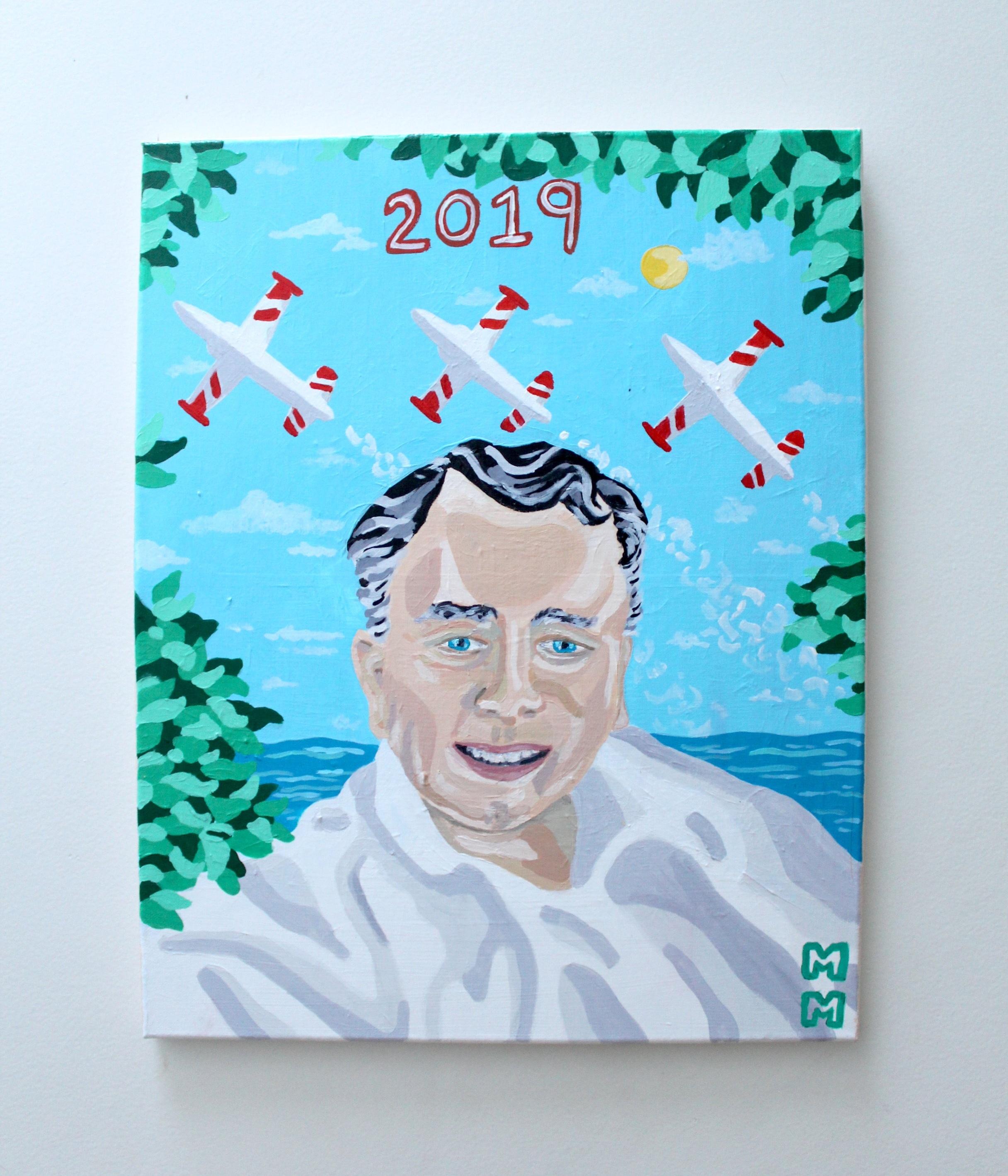 Portrait of Patrick Murphy Acrylic on Canvas 2019