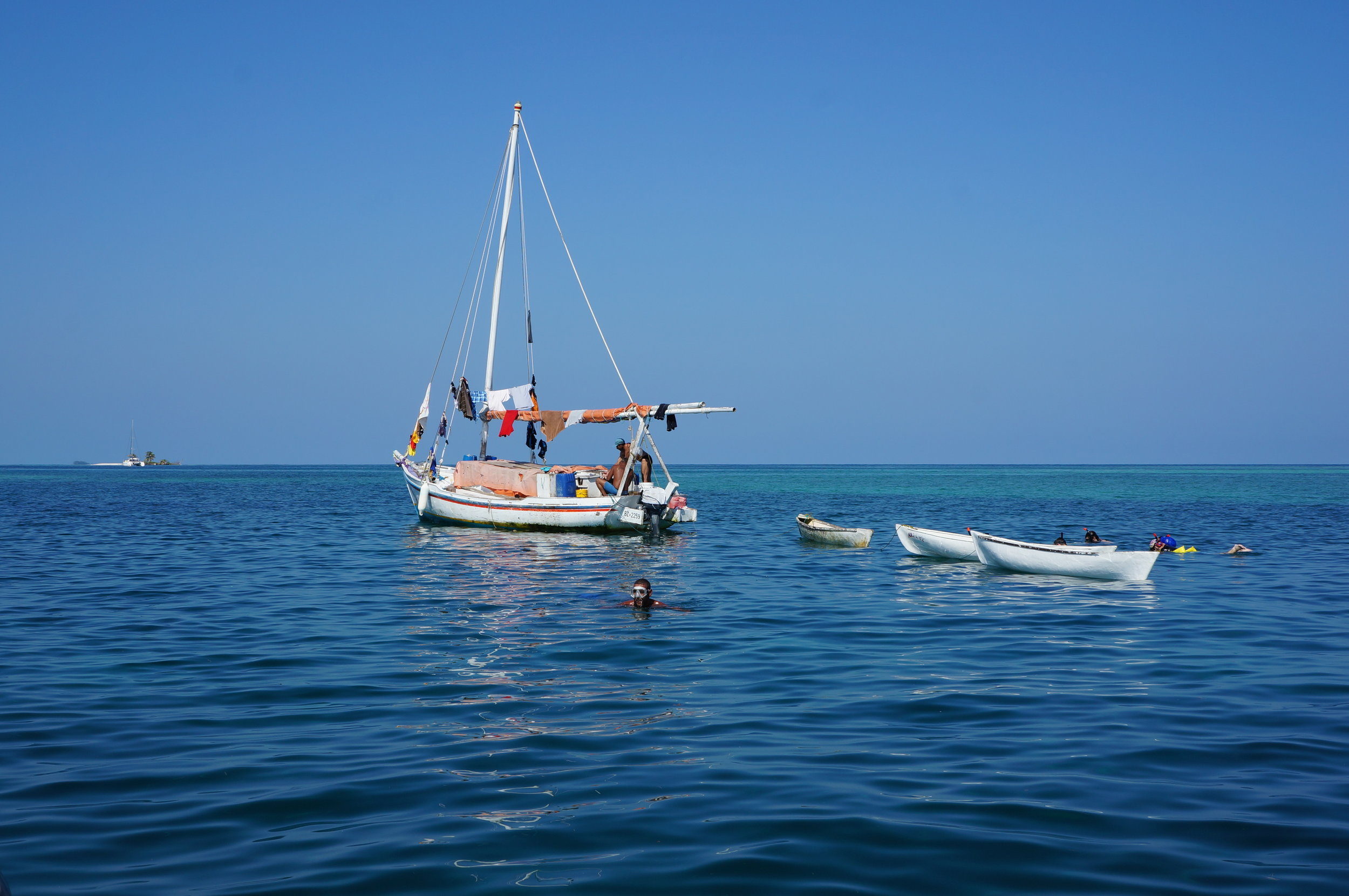 The lobster boat mentioned above and snorkeling out to catch views of loggerhead turtles, sharks, and spotted eagle rays