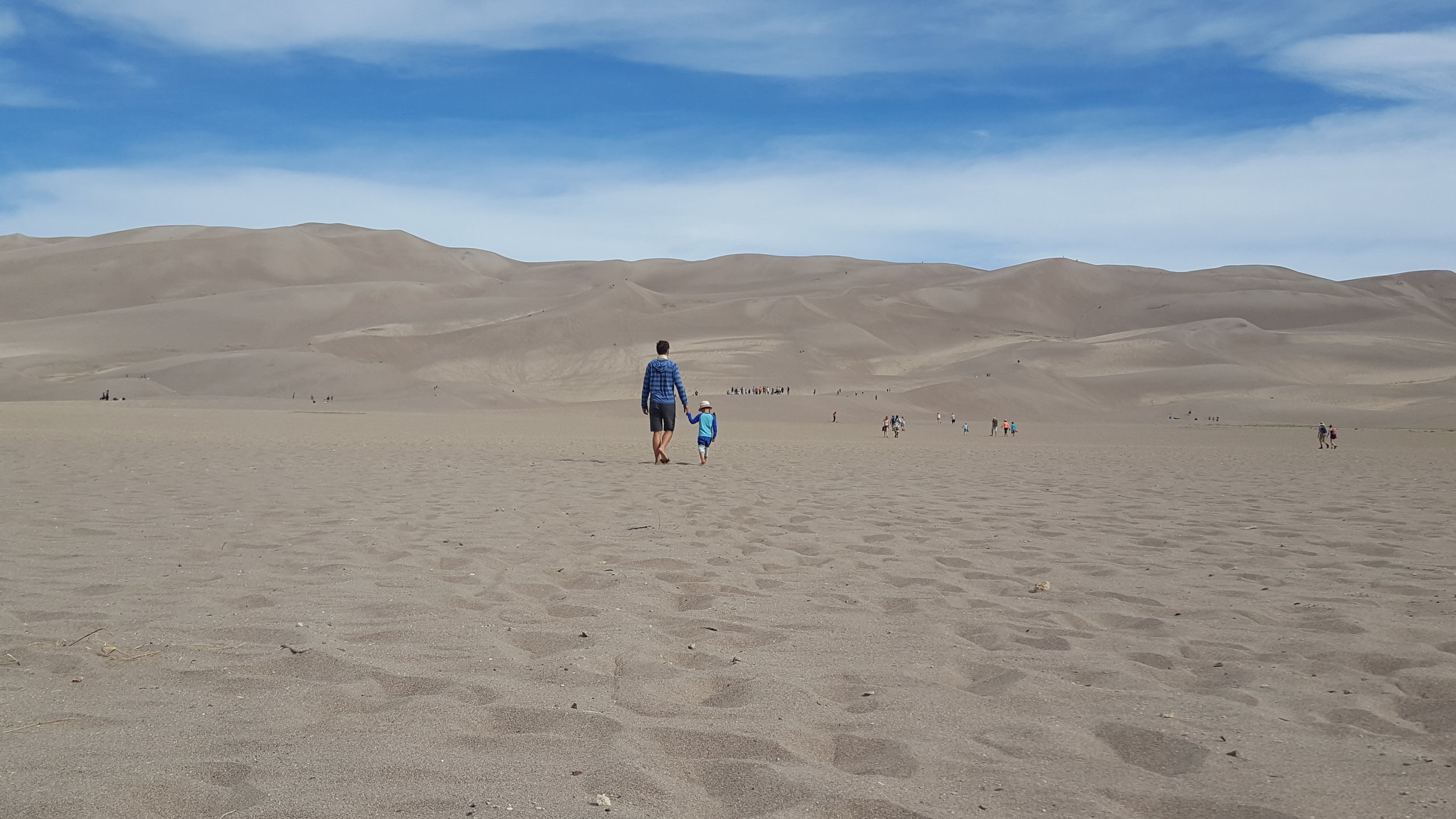 Heading to scope out the dunes - Great Sand Dunes National Park
