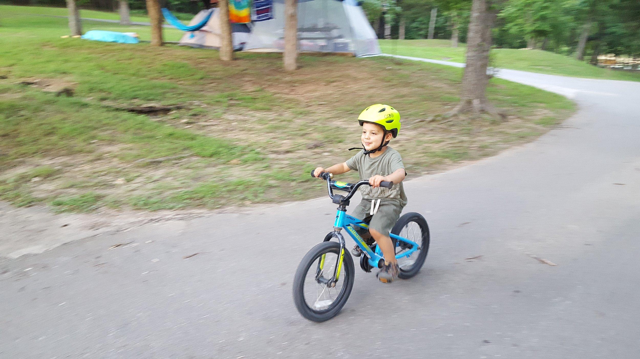 Bike rides around the campground!