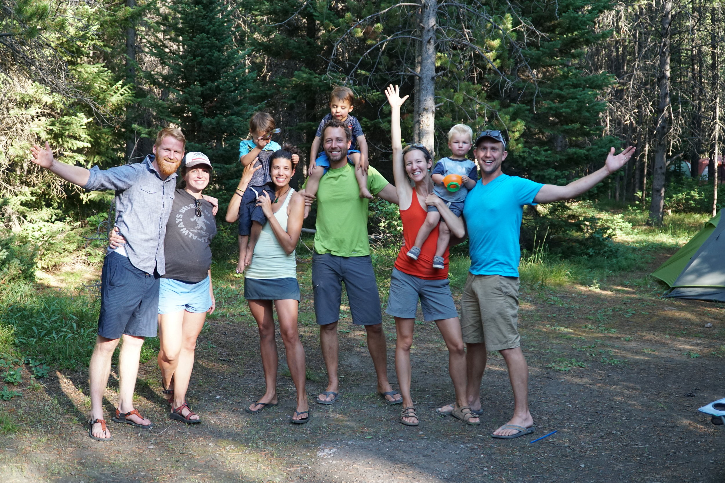 Ellen and Steve stopped by our campground on their way to Durango, Colorado.