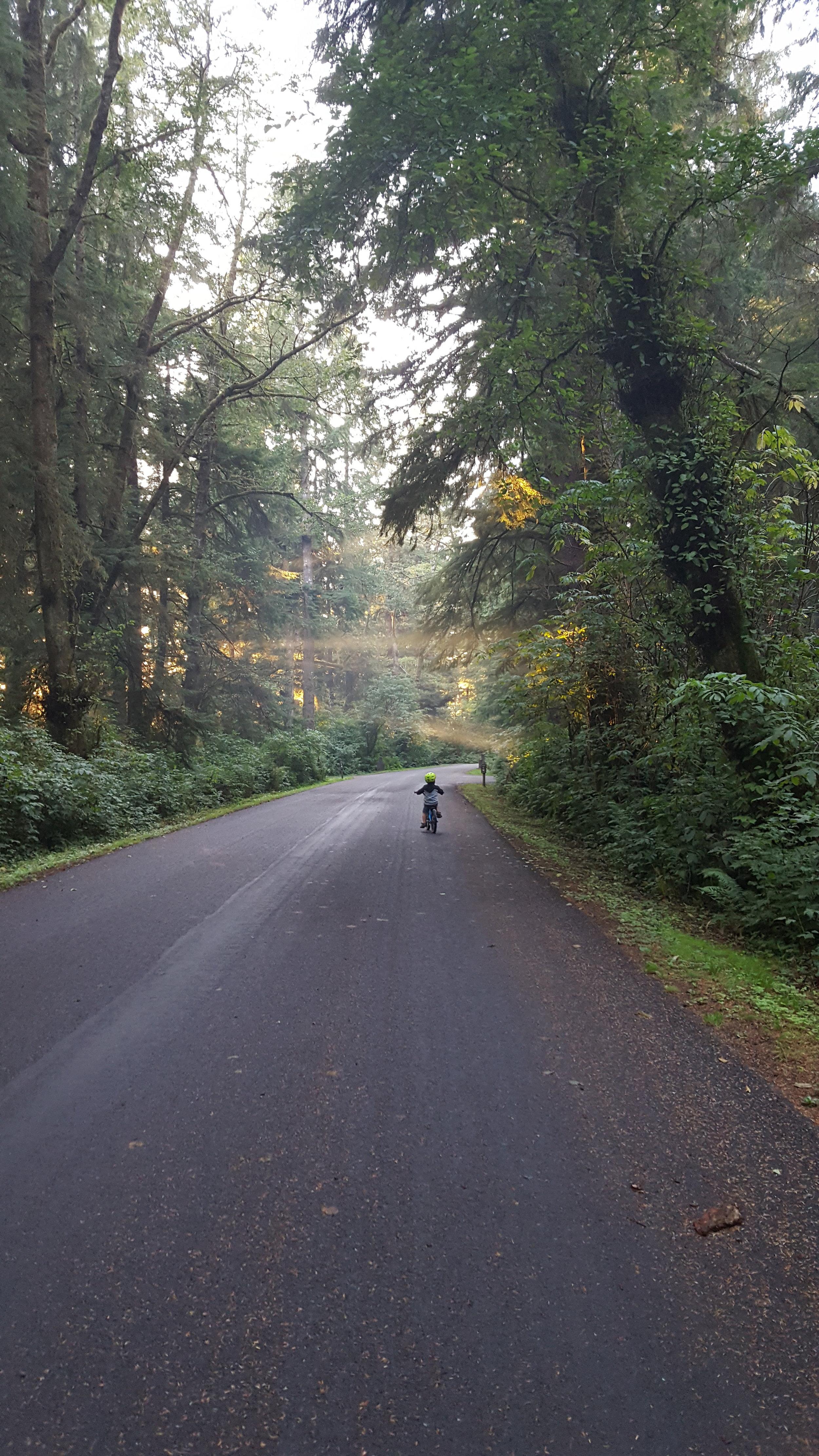 Reid Biking Mora Campground