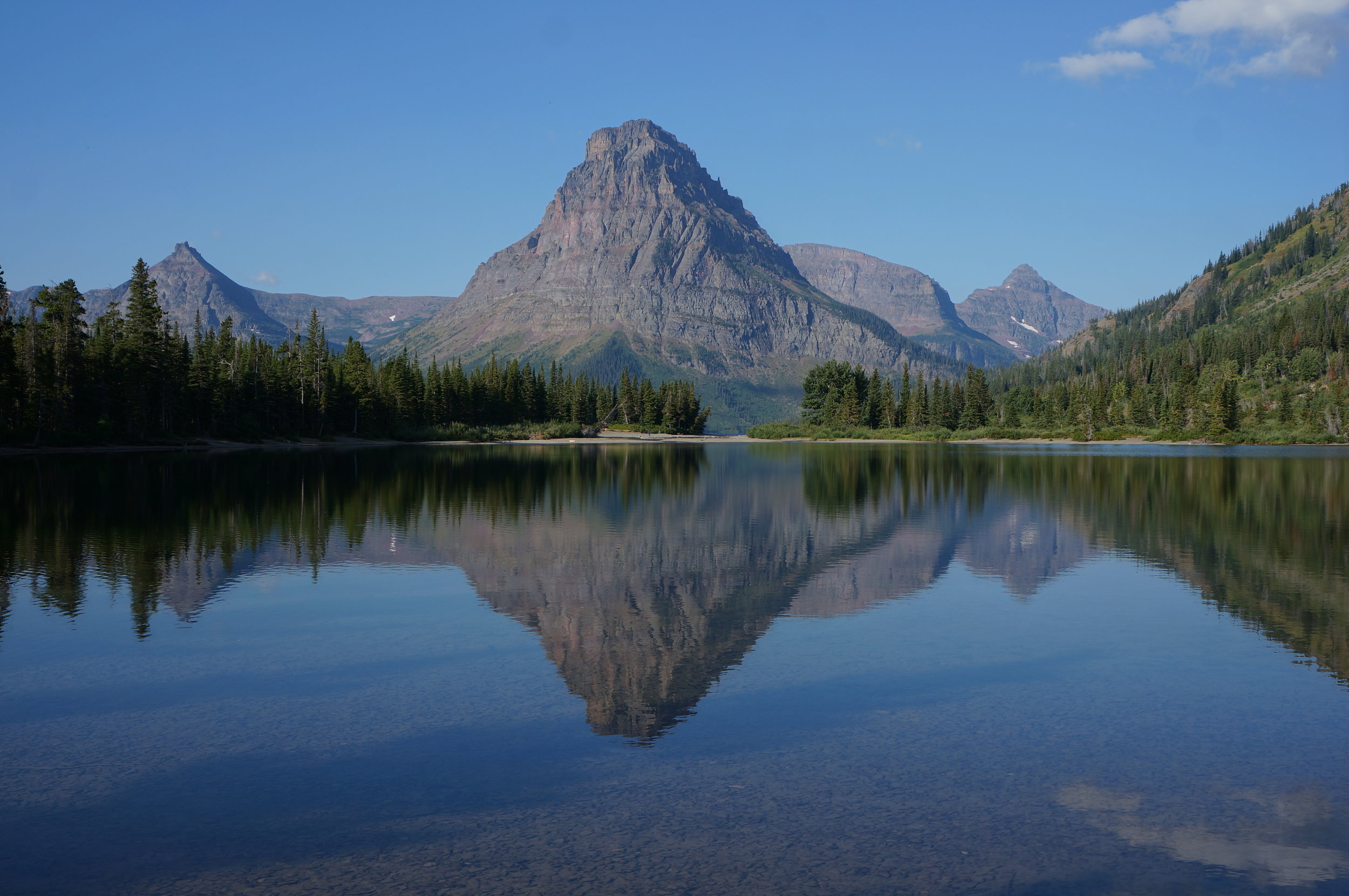 Glacier National Park took our breath away every single day. This is the Two Medicine area.