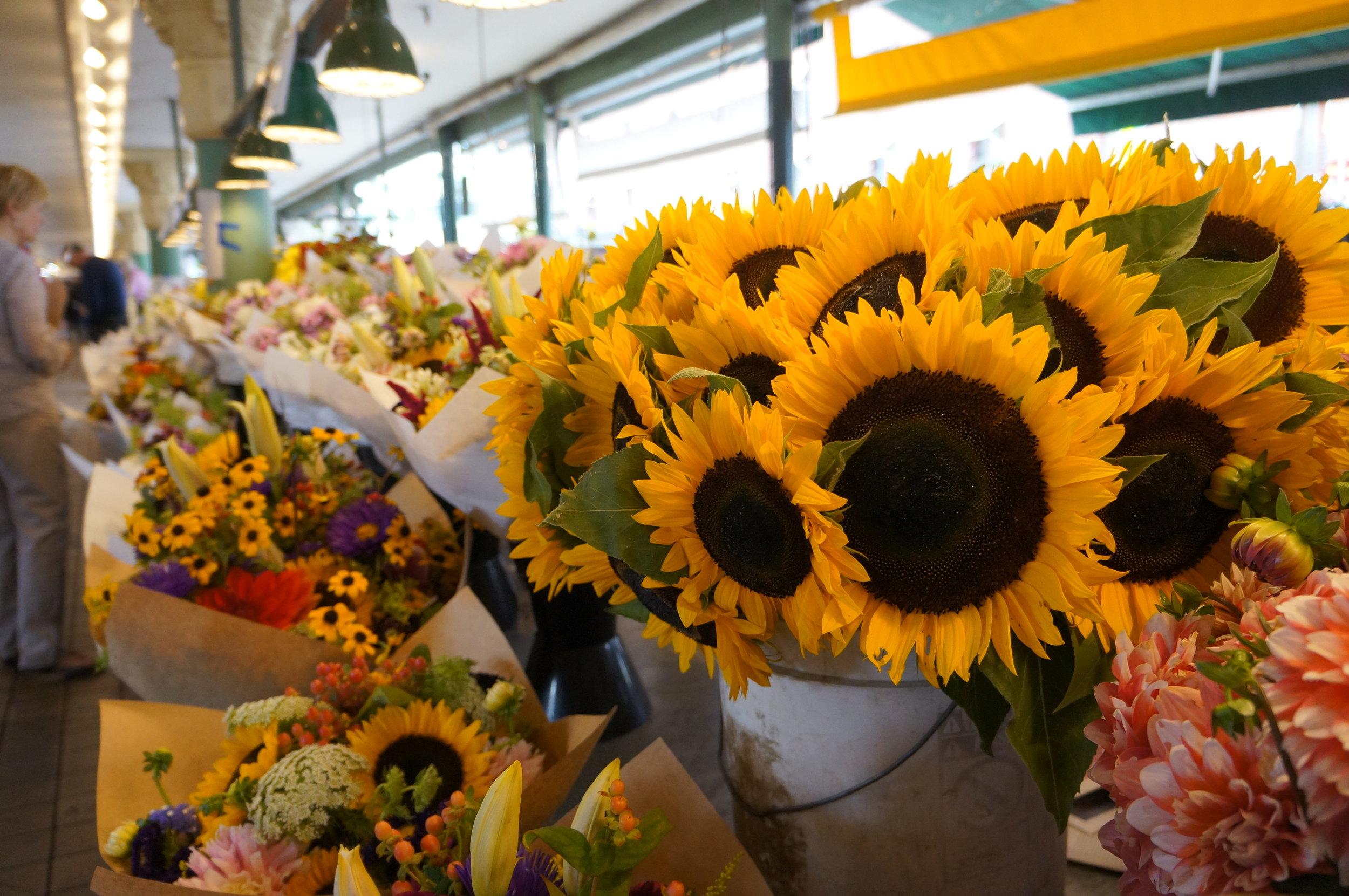 Seattle Market Flowers