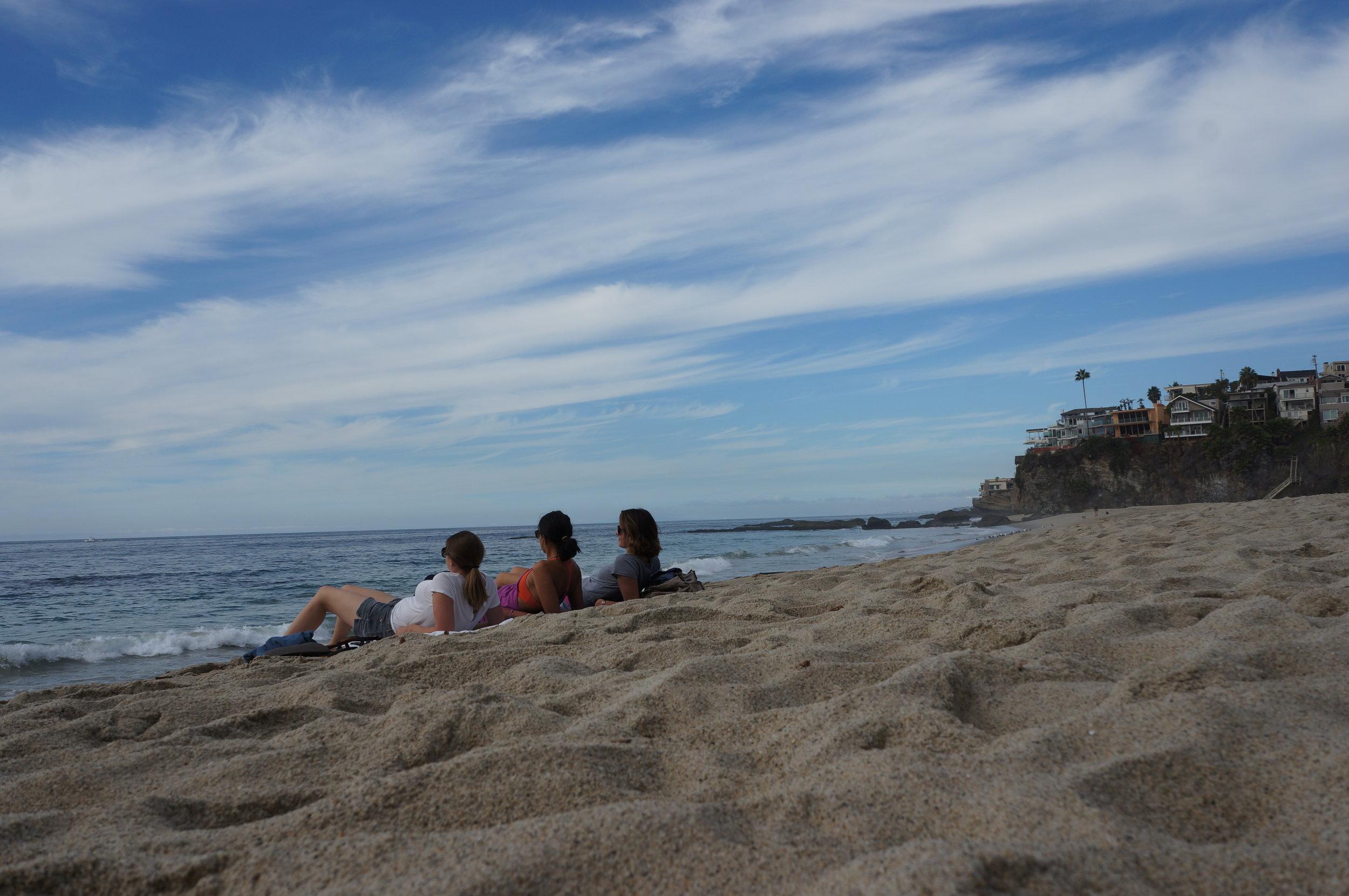 A beach day at 1,000 steps beach, Laguna, California