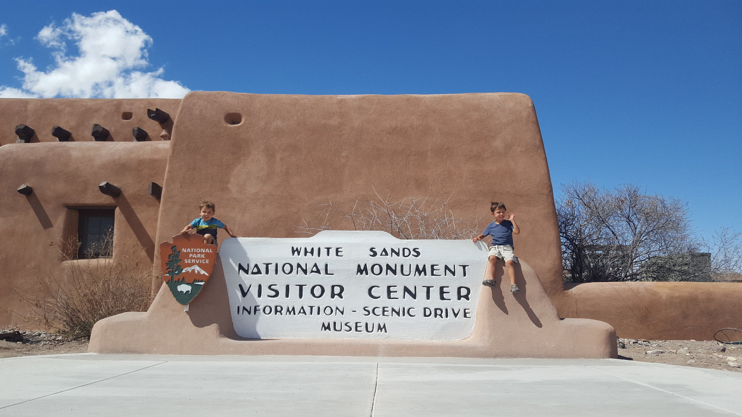 A quick stop at the Visitor Center to learn about White Sands.