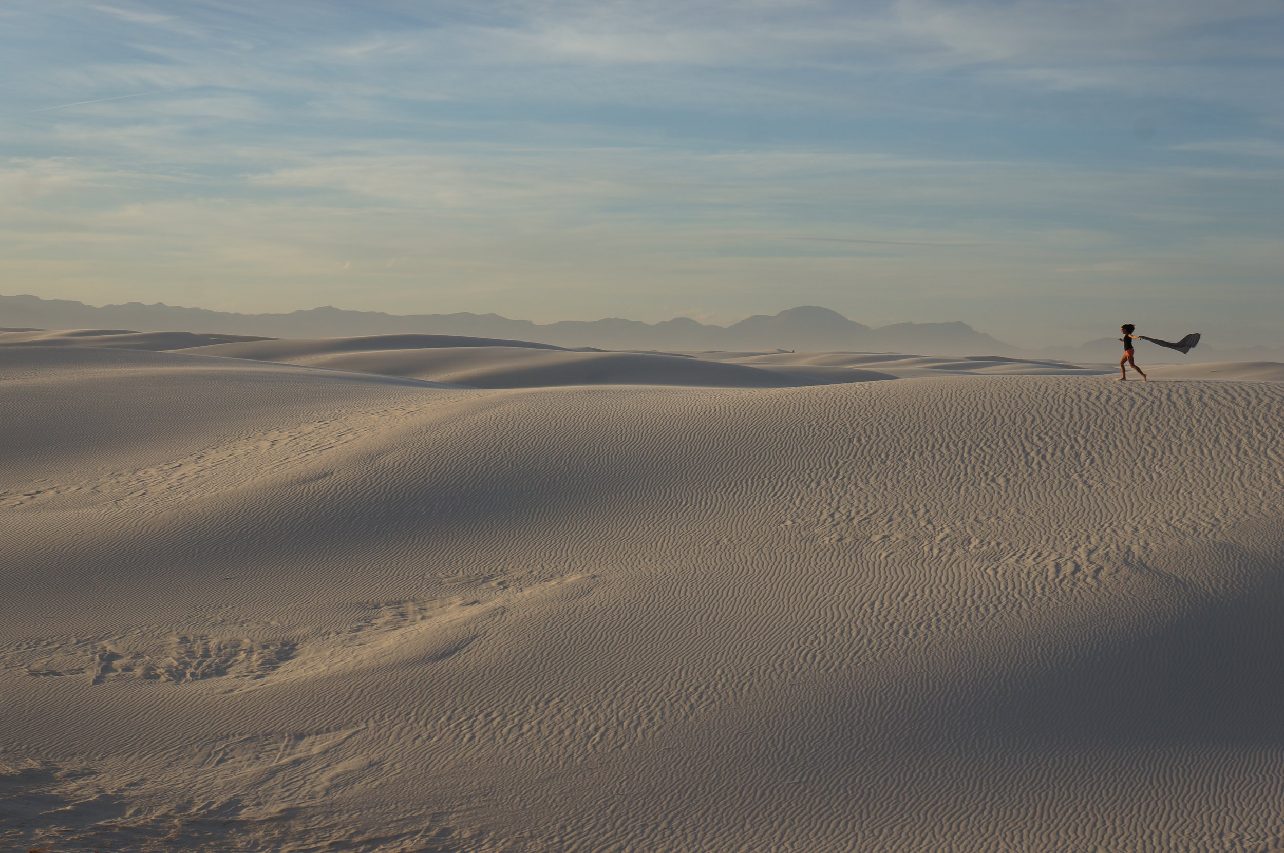 The sand hills are alive...