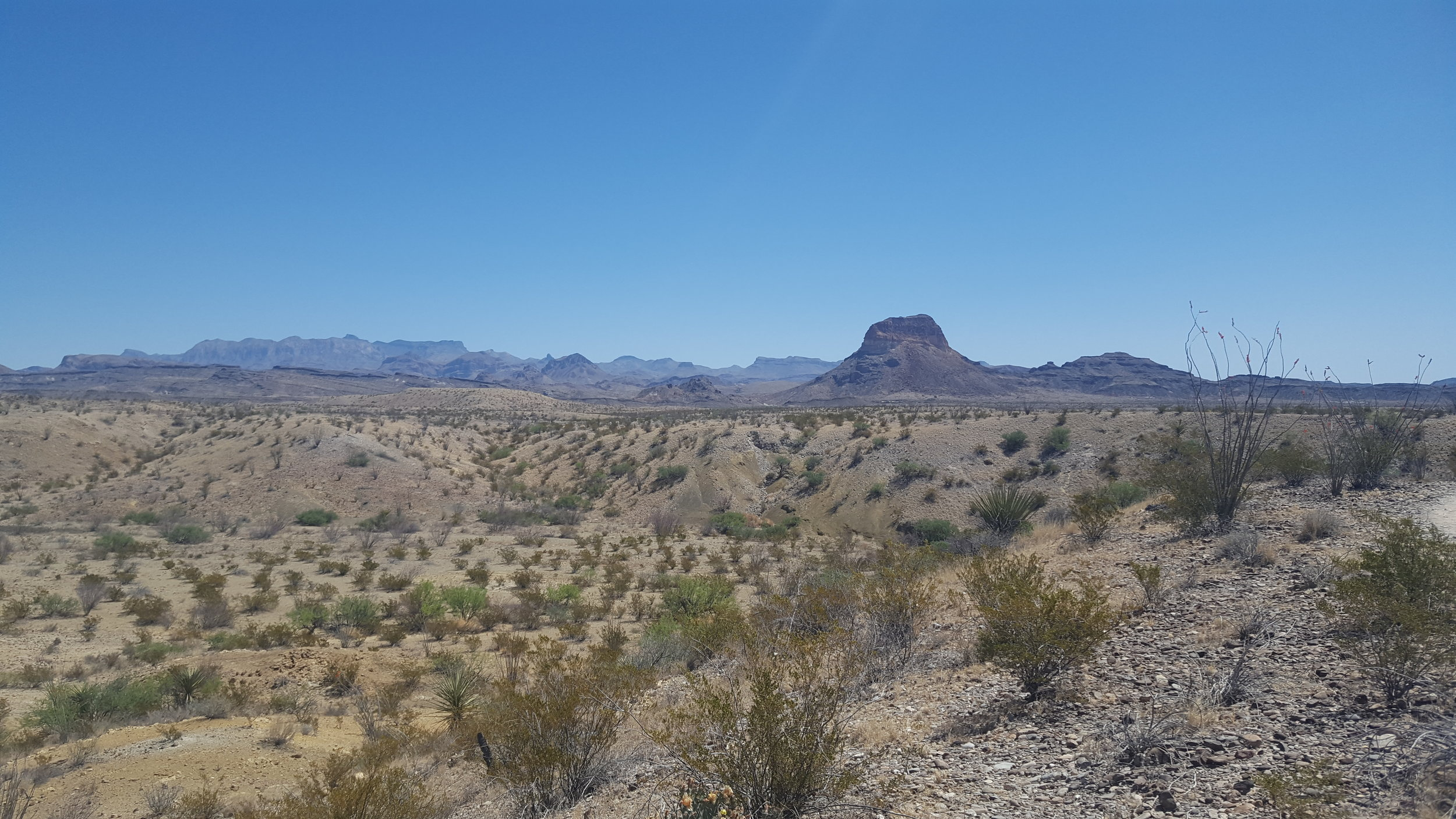 Views from Terlingua Abajo dispersed sites.
