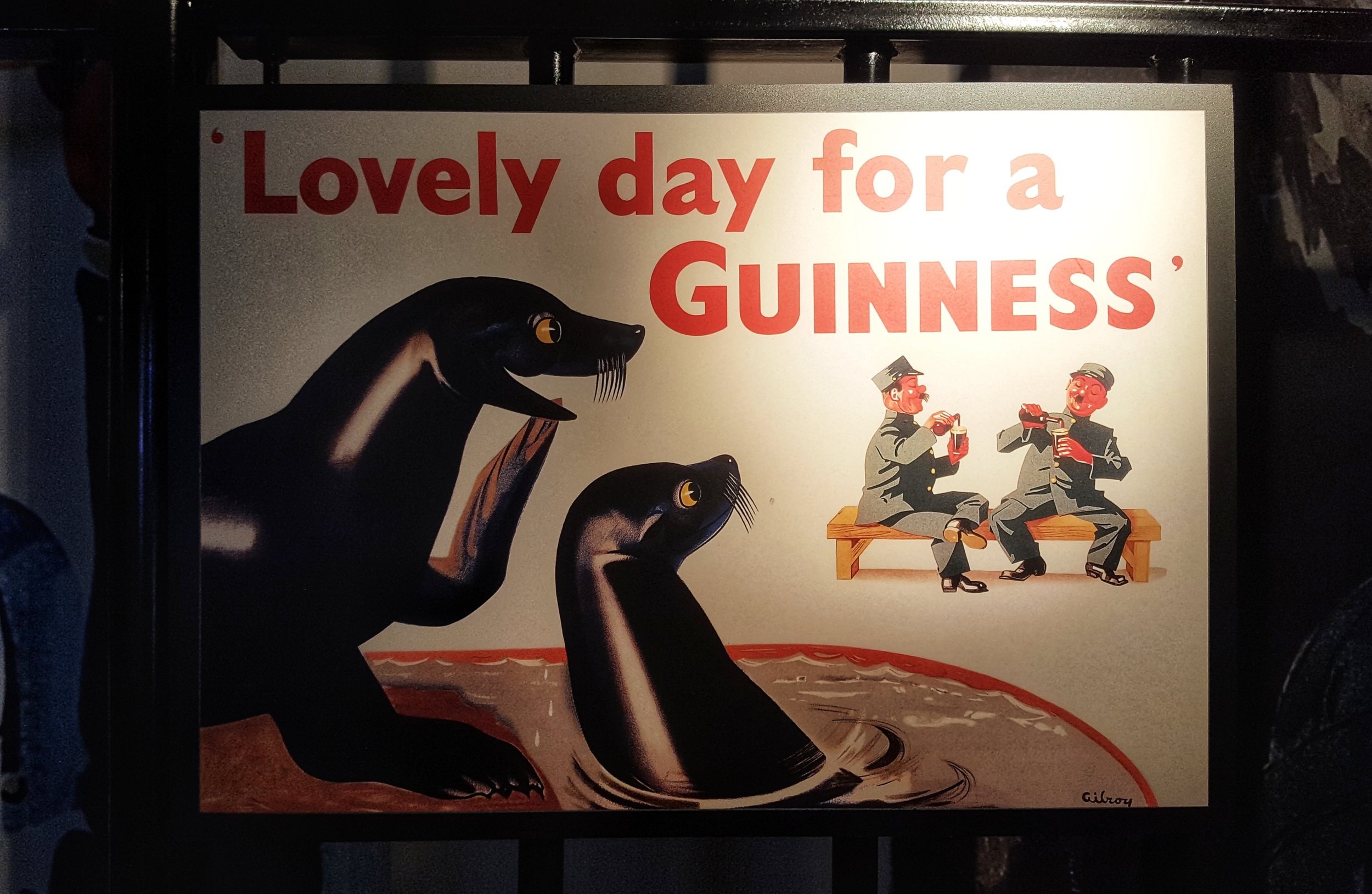A few Guinness advertisements over the years…