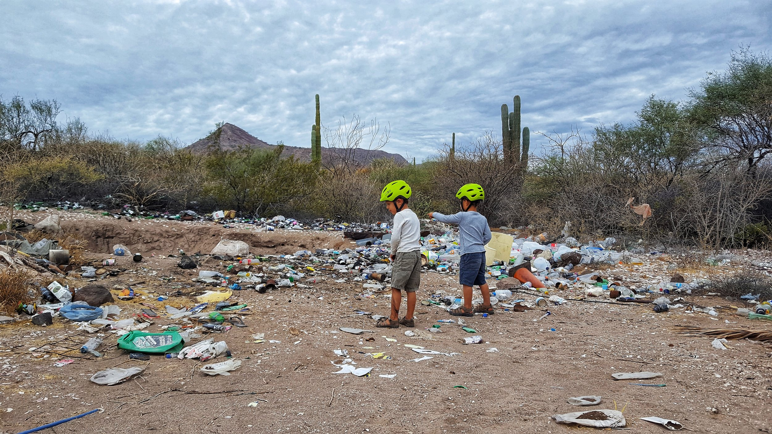 The trash problem in Baja is depressing though. Heaps of it!