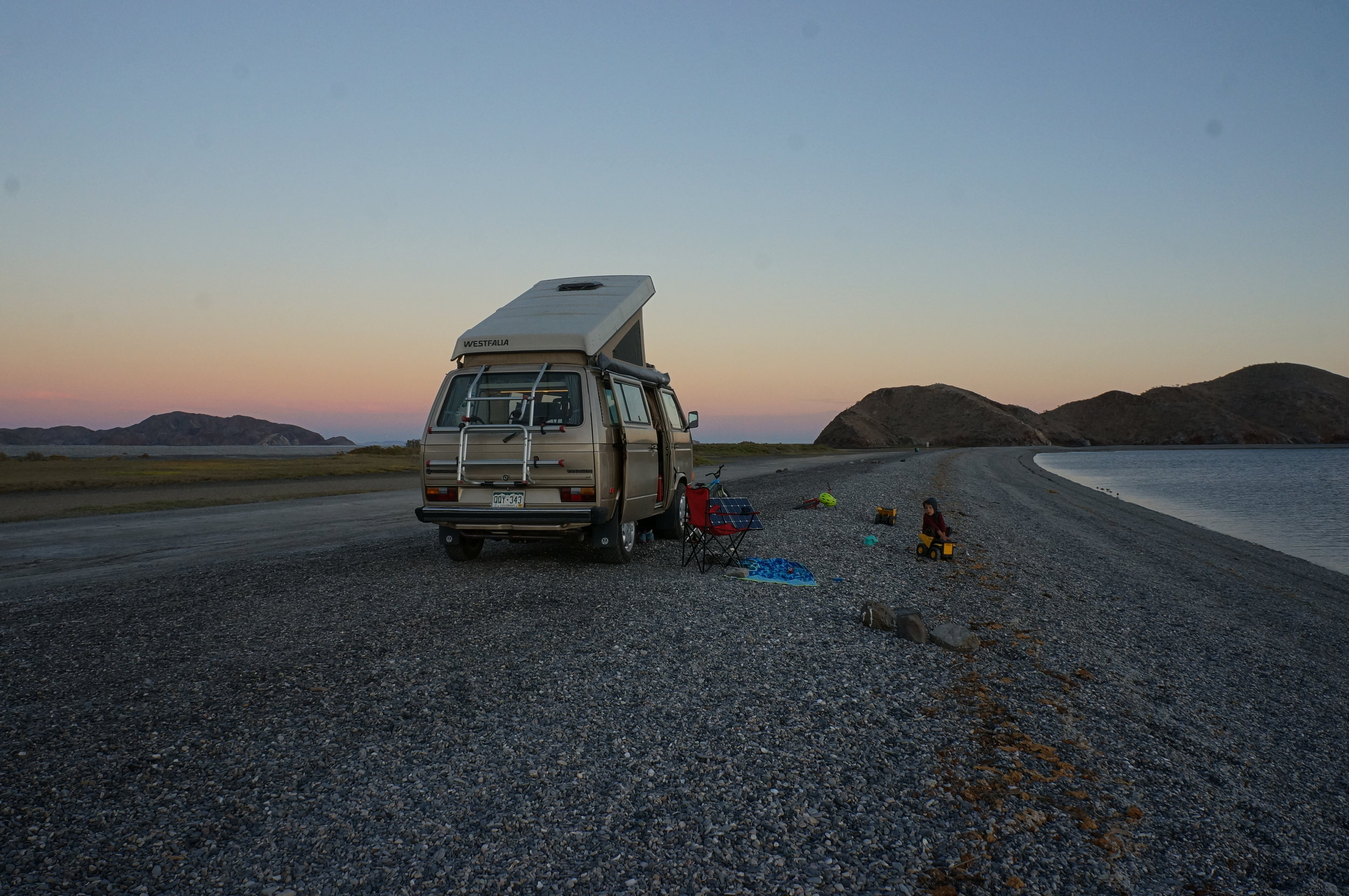Back in Baja where opportunity awaits...