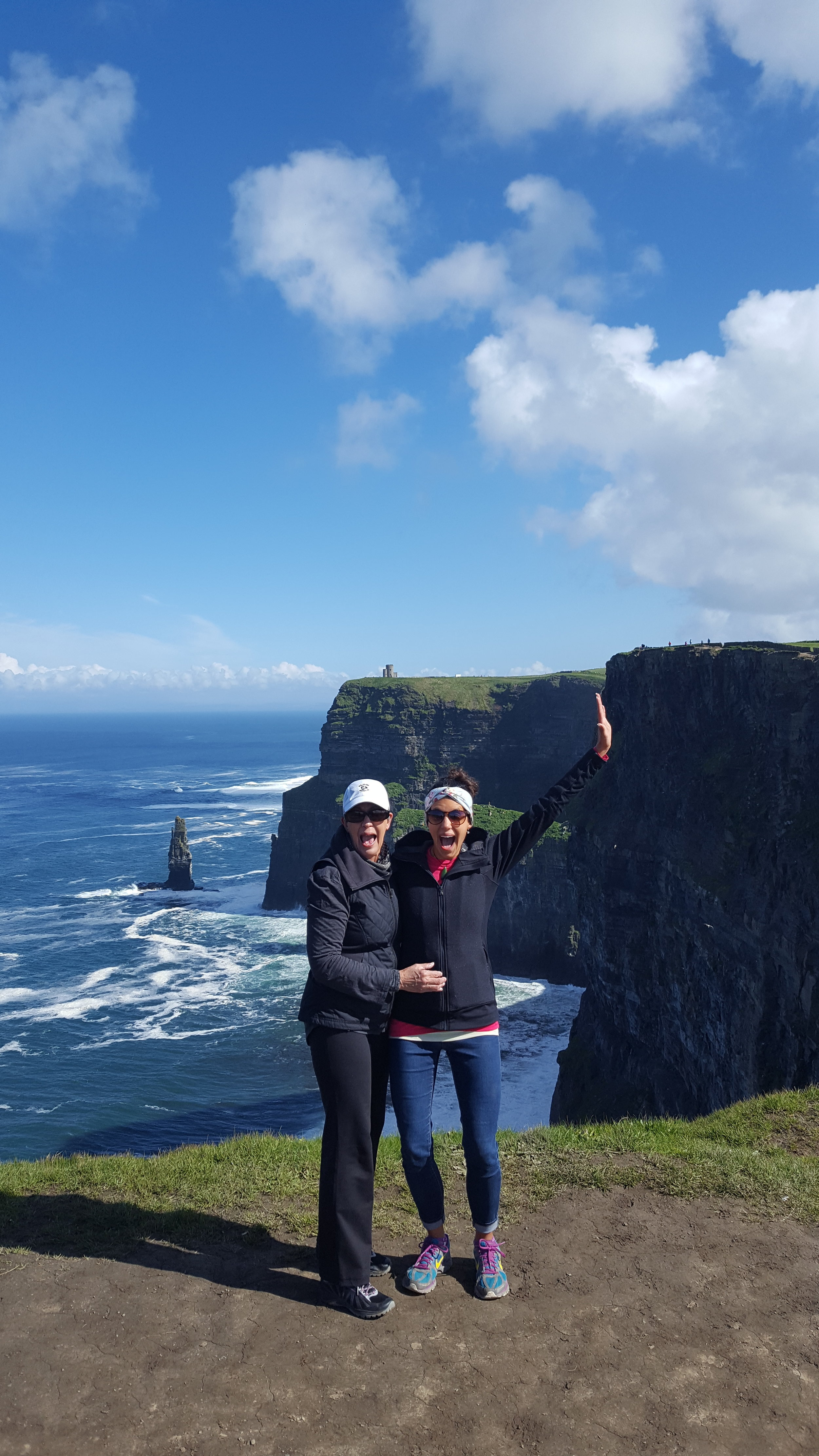 Cliffs of Moher for Mother's Day!