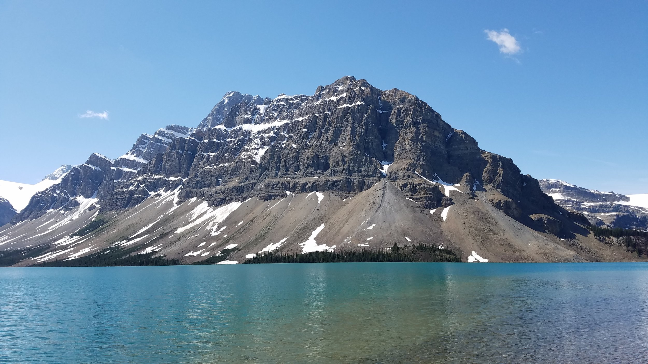Our visit to Bow Lake!