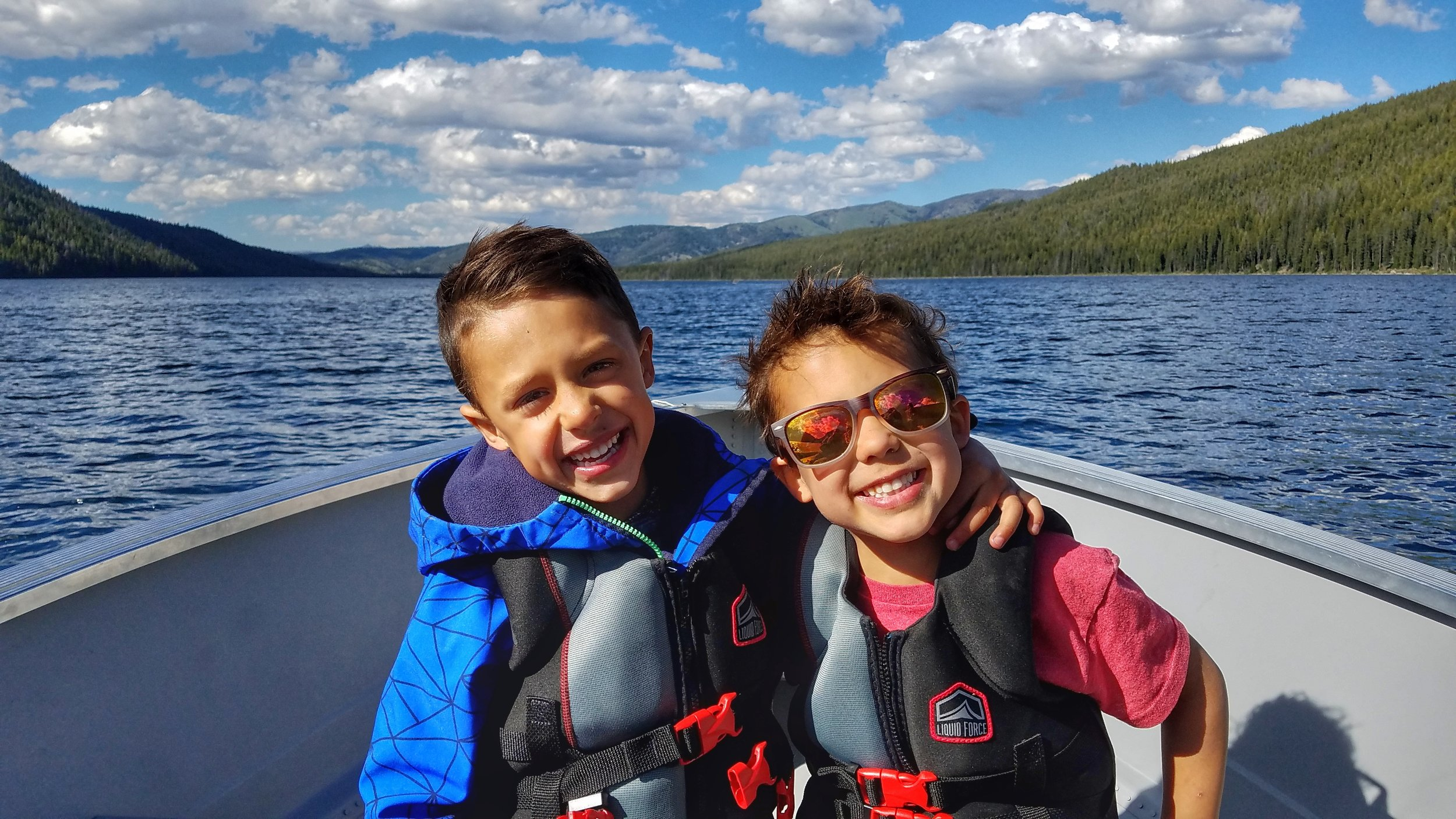 These two - Bennett & Reid, Redfish Lake, Idaho