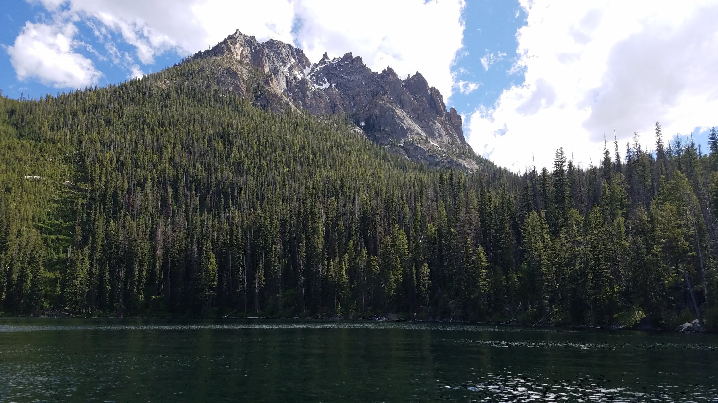 Views from the water, Redfish Lake, Idaho